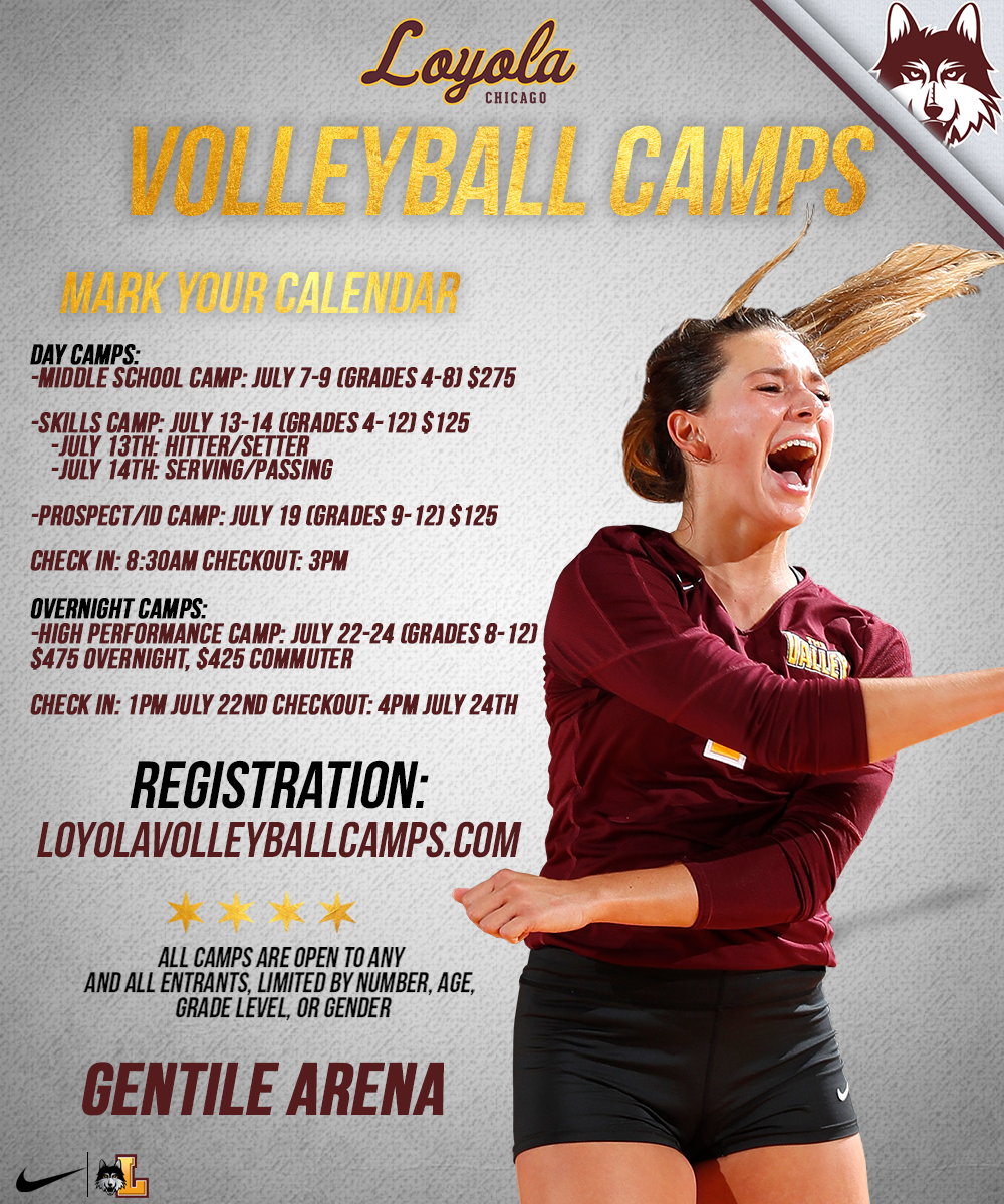 Badger Region Volleyball Association | » Summer Volleyball Camps